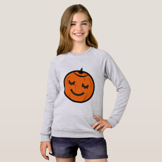 Sweatshirt Citrouille de Kawaii Halloween