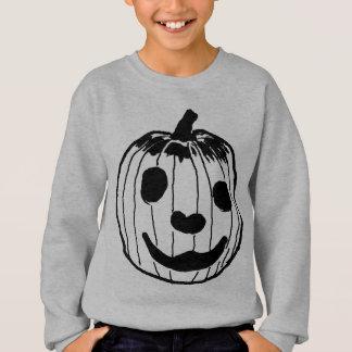 Sweatshirt Citrouille heureux