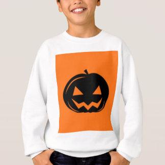 Sweatshirt Citrouille noir