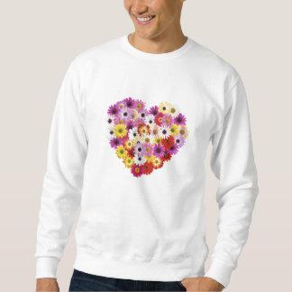 Sweatshirt Coeur de fleur