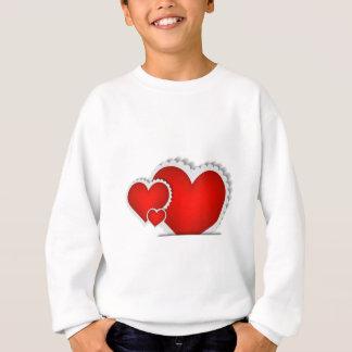 Sweatshirt Coeur se levant du pochet