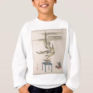 Sweatshirt Composition florale - Utagawa Itchinsai