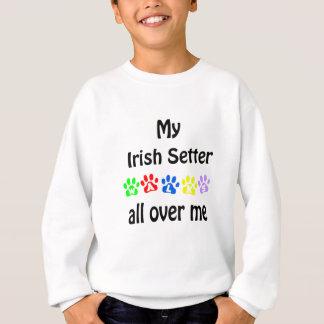 Sweatshirt Conception de promenades de poseur irlandais