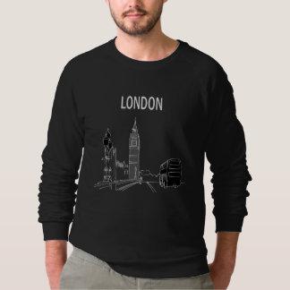 Sweatshirt Cool élégant de Big Ben de croquis élégant moderne