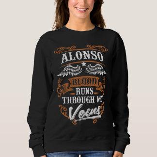 Sweatshirt Courses de sang d'ALONSO par mon Veius