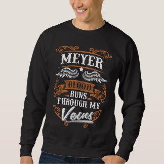 Sweatshirt Courses de sang de MEYER par mon Veius