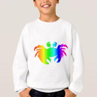 Sweatshirt Crabe 2 d'arc-en-ciel