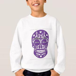Sweatshirt Crâne de pourpre de jeu rouleau-tambour
