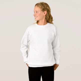 Sweatshirt customisé de Hanes de filles de XL