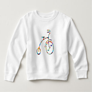 Sweatshirt CYCLE :  Exercice, jeux, forme physique,