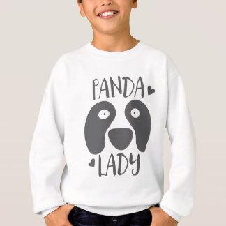 Sweatshirt dame de panda