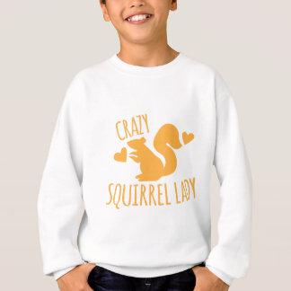 Sweatshirt dame folle d'écureuil