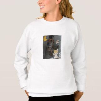Sweatshirt d'ange de n de chien