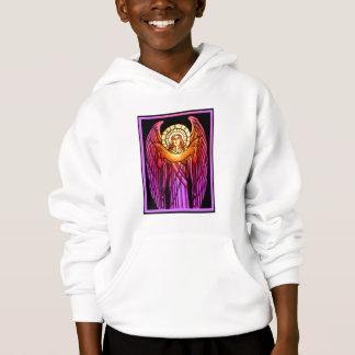 Sweatshirt d'ange en verre souillé