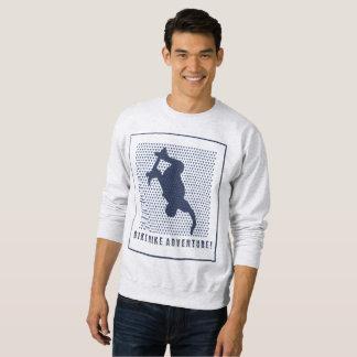 Sweatshirt d'aventure de planche à roulettes