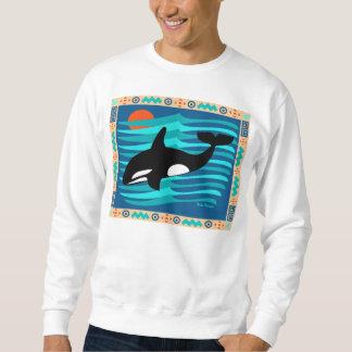 Sweatshirt de baleine d'orque