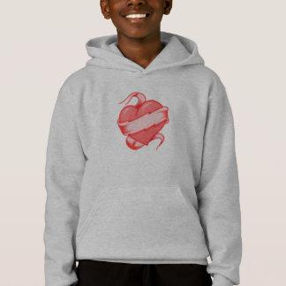 Sweatshirt de coeur