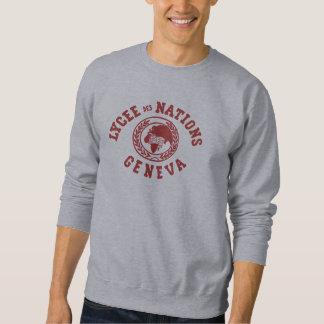 Sweatshirt de cru de nations de DES de Lycée