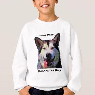 Sweatshirt de garçons d'éblouissement de Malamute