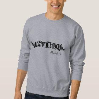 Sweatshirt de gris de Hustorical d'habillement de