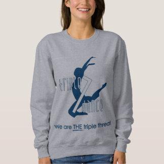 Sweatshirt de gris du triple 7