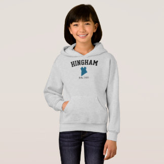 Sweatshirt de Hingham le Massachusetts pour des