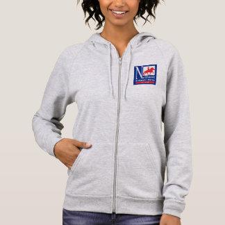 Sweatshirt de la Fermeture éclair- des femmes de
