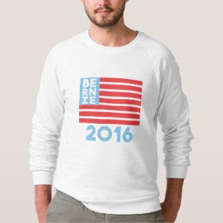 Sweatshirt de raglan de drapeau de Bernie