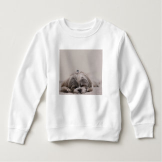 Sweatshirt de sommeil de tzu de Shih, chien de