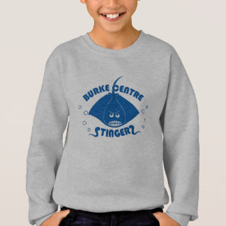 Sweatshirt de Stingers de centre de Burke