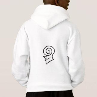 Sweatshirt de sweat - shirt à capuche des garçons