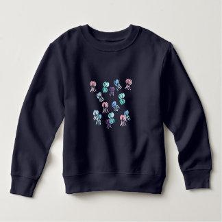Sweatshirt d'enfant en bas âge de méduses