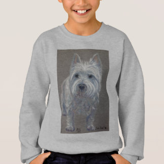 Sweatshirt des montagnes occidental de chien de