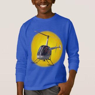 Sweatshirt d'hélicoptère de cool de chemise de