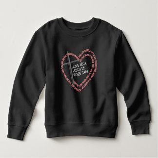 Sweatshirt d'obscurité d'enfant en bas âge du