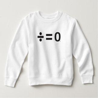 Sweatshirt d'ouatine d'enfant en bas âge de