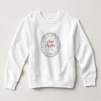 Sweatshirt d'ouatine d'enfant en bas âge de drame