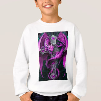 Sweatshirt Dragon pourpre