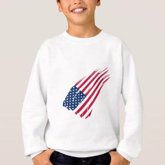 Sweatshirt Drapeau des Etats-Unis