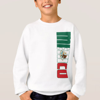 Sweatshirt Drapeau du Mexique