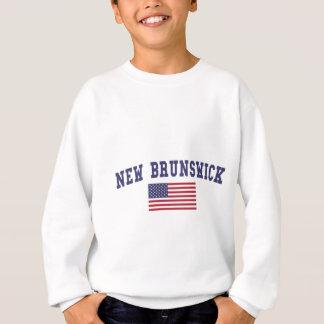 Sweatshirt Drapeau du Nouveau Brunswick USA