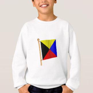 Sweatshirt Drapeau nautique 'Z