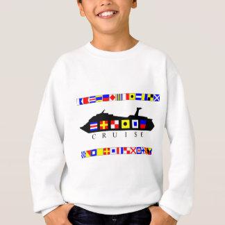 Sweatshirt Drapeaux de signal de croisière