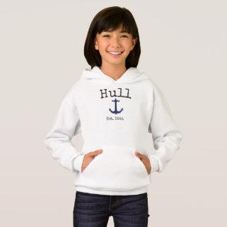 Sweatshirt du Massachusetts de coque pour des