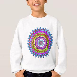 Sweatshirt Éclat d'ÉTOILE :  Emblème artistique de mandala de