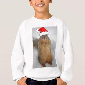 Sweatshirt Écureuil de Noël