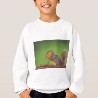 Sweatshirt Écureuil rouge