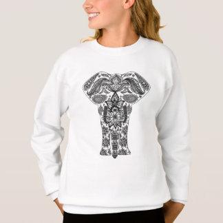 Sweatshirt Éléphant de mandala