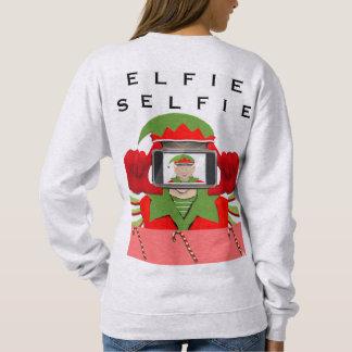 Sweatshirt Elfie Selfie