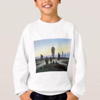 Sweatshirt Étapes de Caspar David Friedrich de la vie